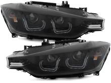 Angel Eyes за BMW F30/F31 (2012-2014)  Двоен 3D Xenon Look Black