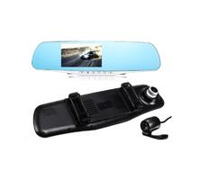 Видеорегистратор - огледало AT K43 2CAM FULL HD, 4.3 инча + КАМЕРА