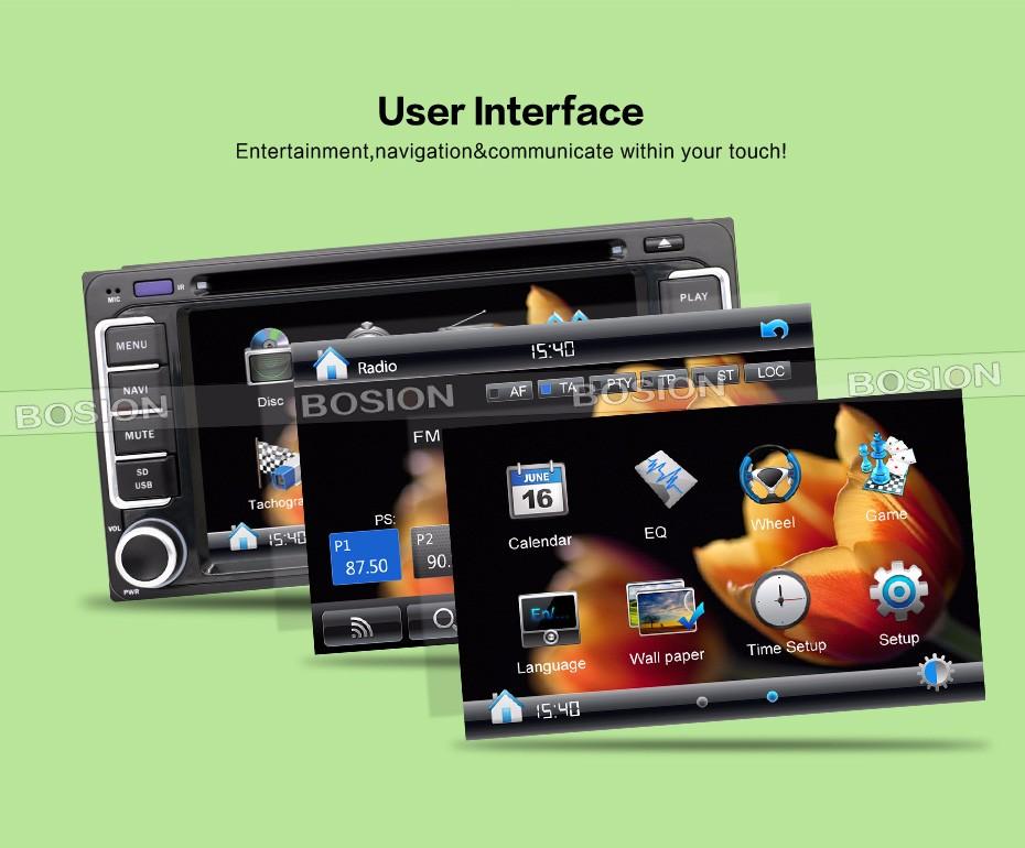 Специализирана мултимедия TOYOTAWIN  двоен дин за Toyota WinCE, GPS, DVD, 6.2 инча