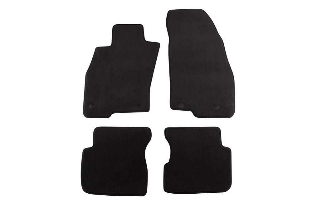 Черни велурени стелки за ALFA ROMEO MITO (След 2008)
