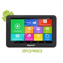 WayteQ x995 Android с безплатни актуализации на картите GPS навигация Sygic