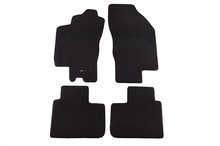 Черни велурени стелки за  ALFA ROMEO 156 1997.11-2003.8
