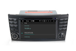 Навигация двоен дин за Mercedes W211 с ANDROID 8.0, BZ0701A8 WiFi, GPS, 7 инча
