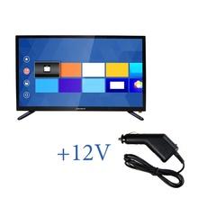 Портативен телевизор Crown 2433T2 с цифров тунер - 24 инчa 12-220V